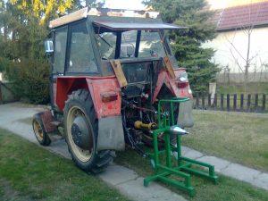 Holzspalter Traktor